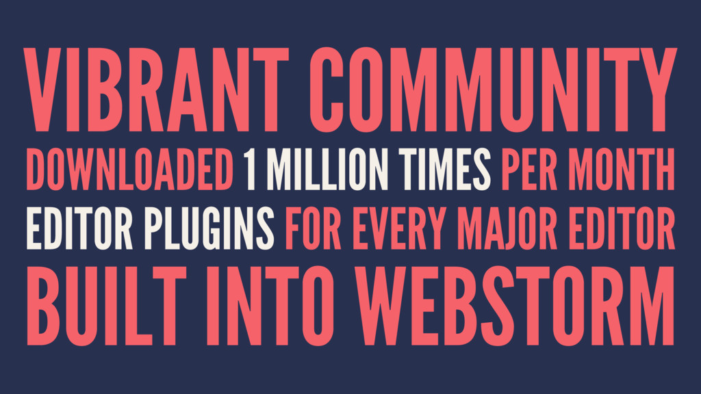 VIBRANT COMMUNITY DOWNLOADED 1 MILLION TIMES PE...