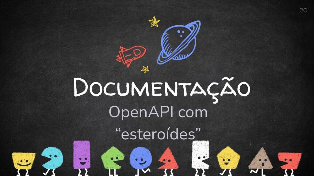 """Documentação OpenAPI com """"esteroídes"""" 30"""