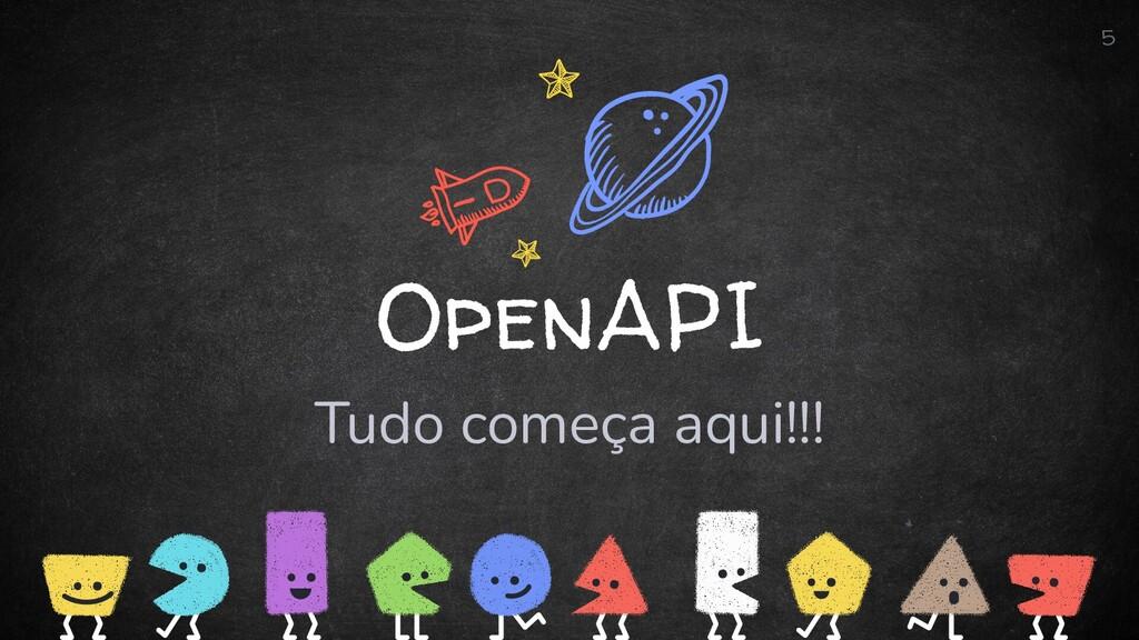 OpenAPI Tudo começa aqui!!! 5