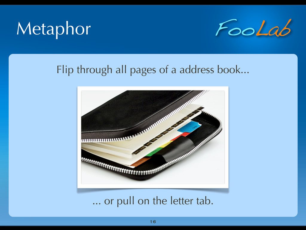 FooLab Metaphor 16 Flip through all pages of a ...