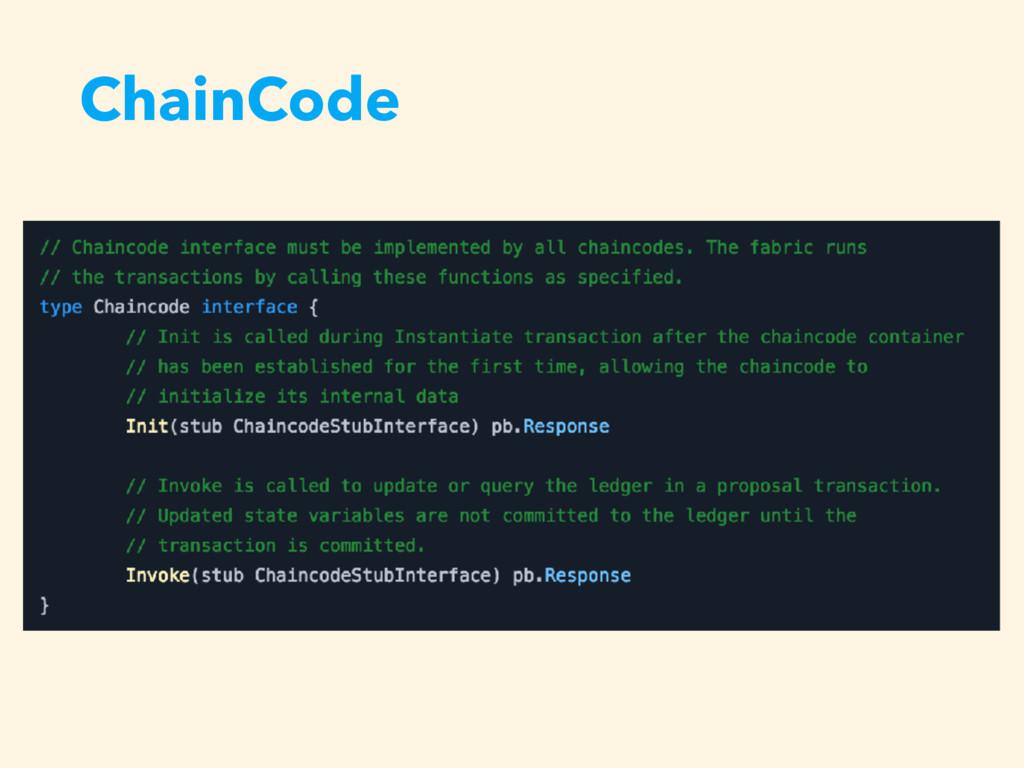 ChainCode