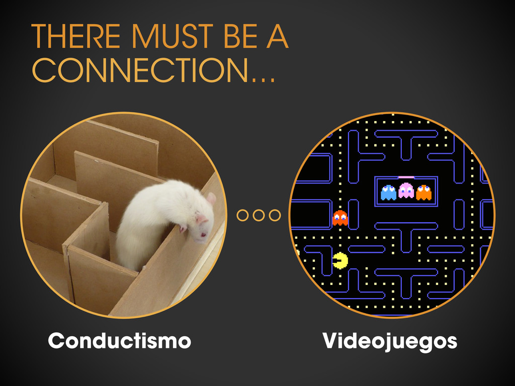 THERE MUST BE A CONNECTION... Conductismo Video...