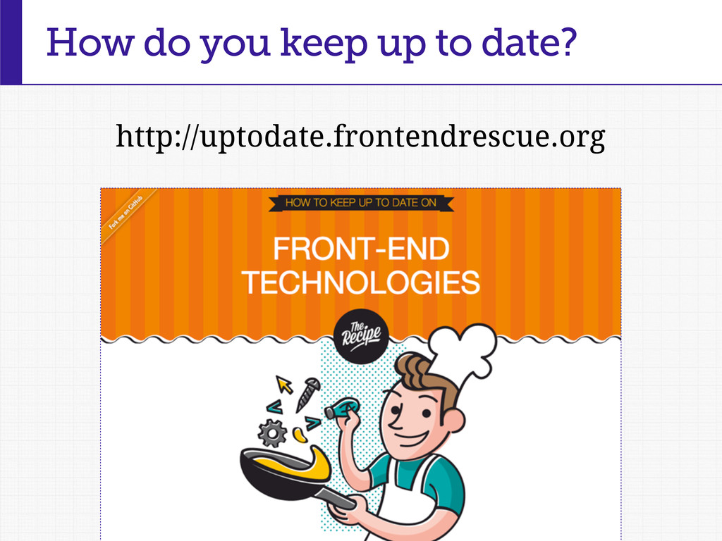 How do you keep up to date? http://uptodate.fro...