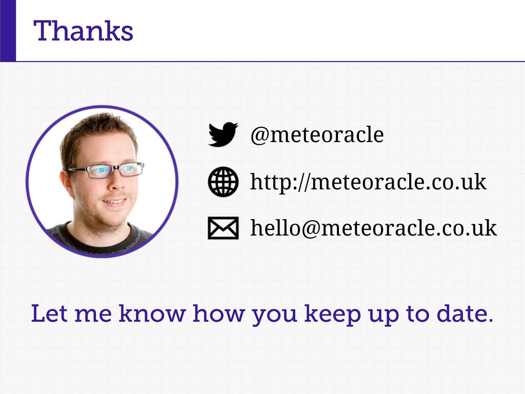 Thanks http://meteoracle.co.uk @meteoracle hell...
