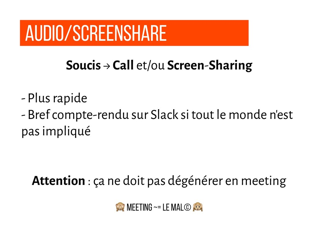 Audio/Screenshare Soucis → Call et/ou Screen-Sh...