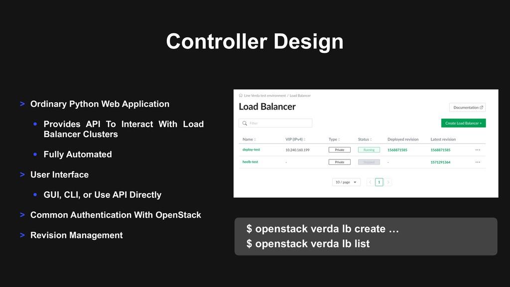 Controller Design > Ordinary Python Web Applica...