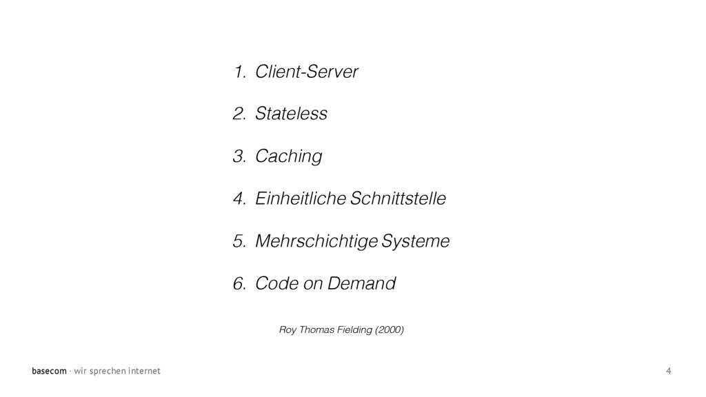 basecom · wir sprechen internet 4 1. Client-Ser...