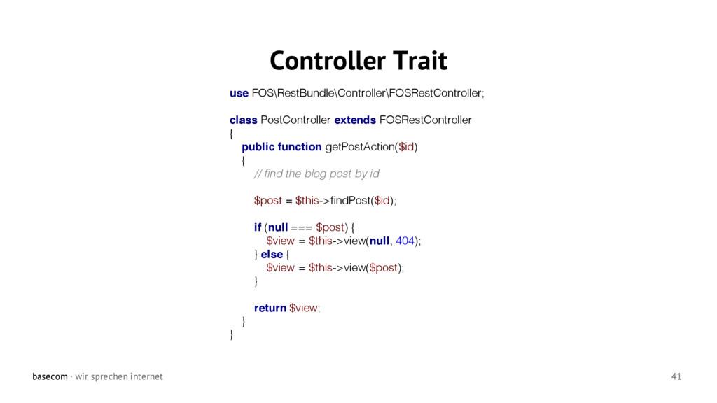 basecom · wir sprechen internet 41 Controller T...