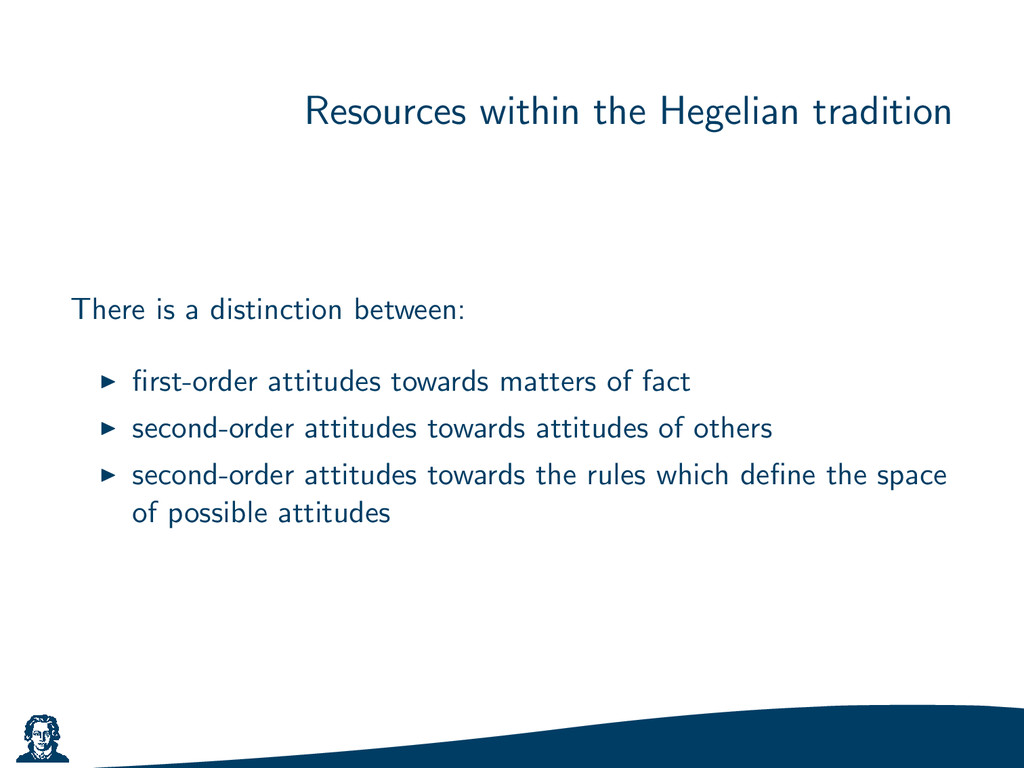 Resources within the Hegelian tradition There i...