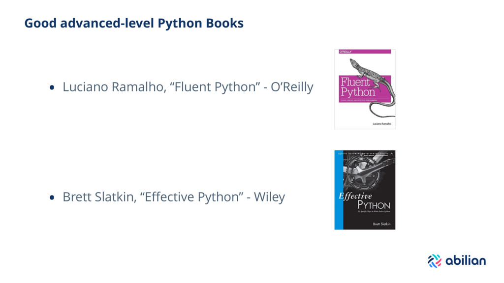 Good advanced-level Python Books • Luciano Rama...