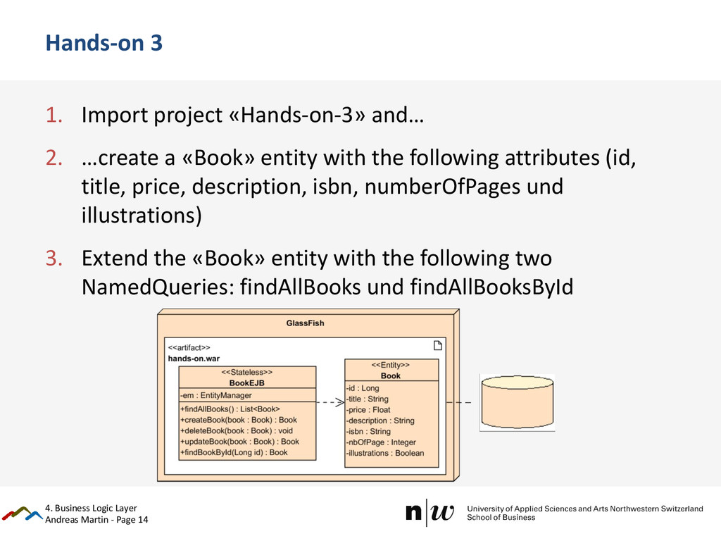 Andreas Martin - Page 14 Hands-on 3 1. Import p...