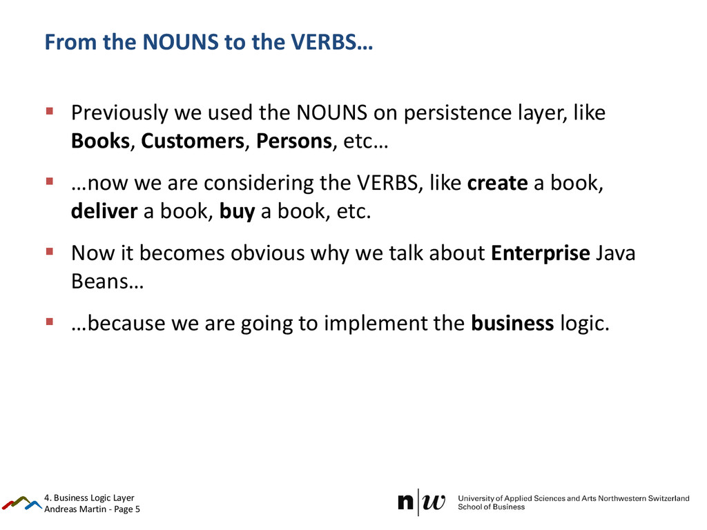 Andreas Martin - Page 5 From the NOUNS to the V...