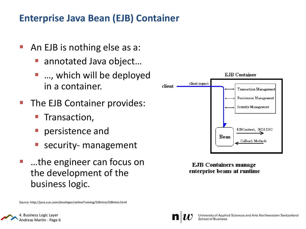 Andreas Martin - Page 6 Enterprise Java Bean (E...