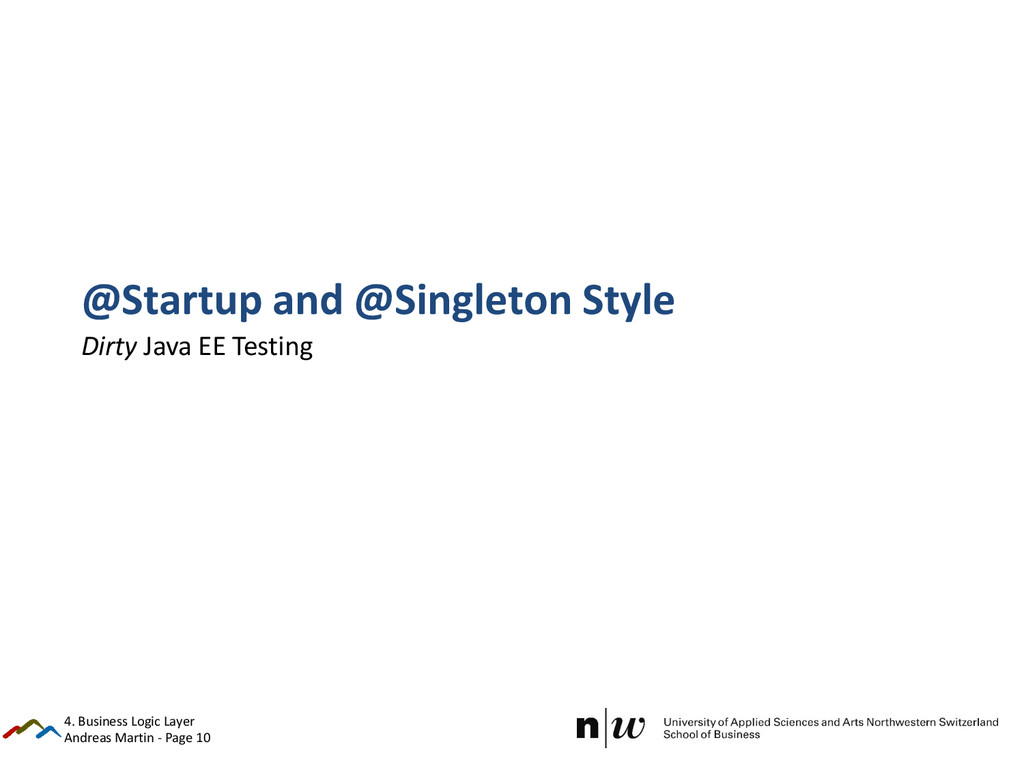 Andreas Martin - Page 10 @Startup and @Singleto...