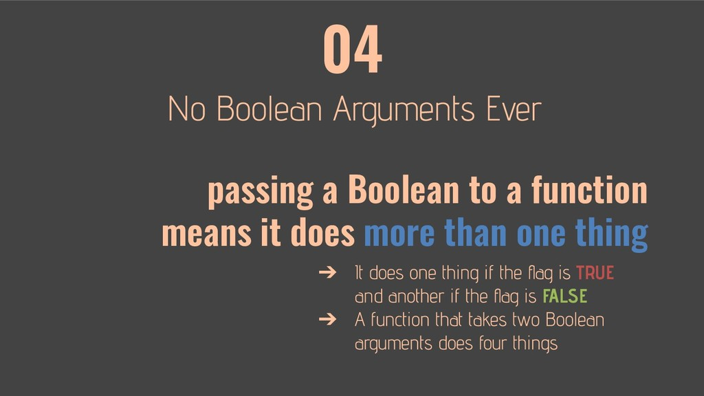 04 ➔ TRUE FALSE ➔ passing a Boolean to a functi...