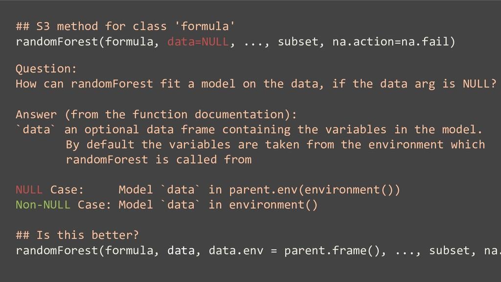 ## S3 method for class 'formula' randomForest(f...