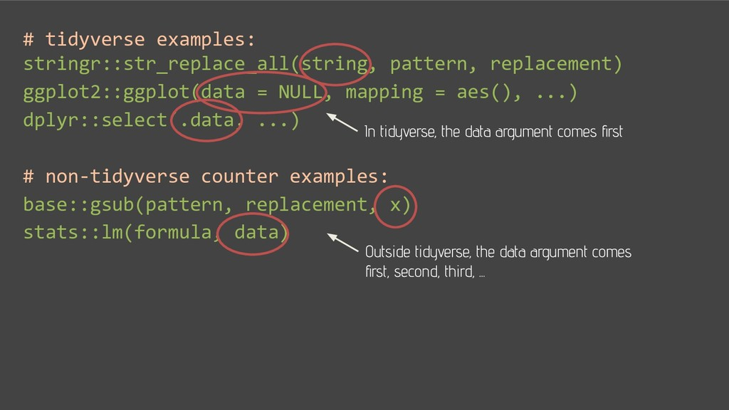 # tidyverse examples: stringr::str_replace_all(...