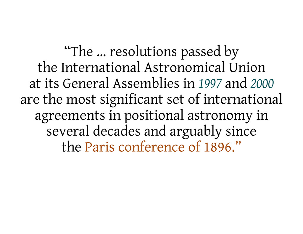 """The … resolutions passed by the International ..."