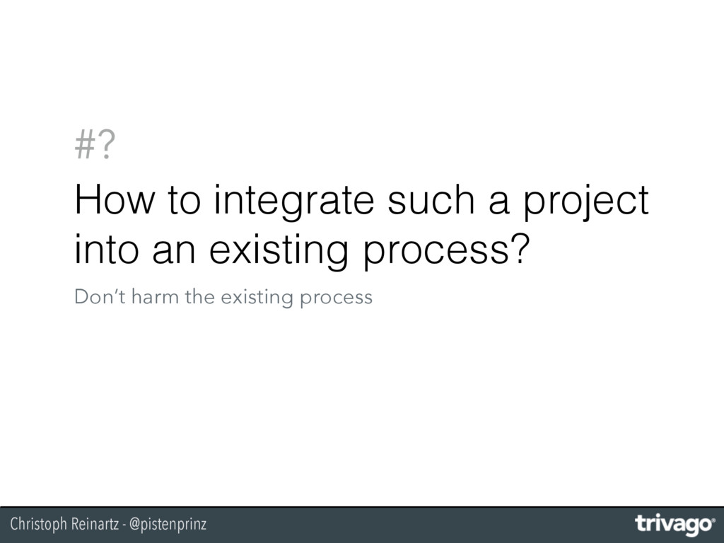 Christoph Reinartz - @pistenprinz #? How to int...