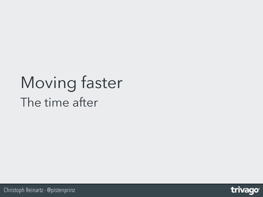 Christoph Reinartz - @pistenprinz Moving faster...