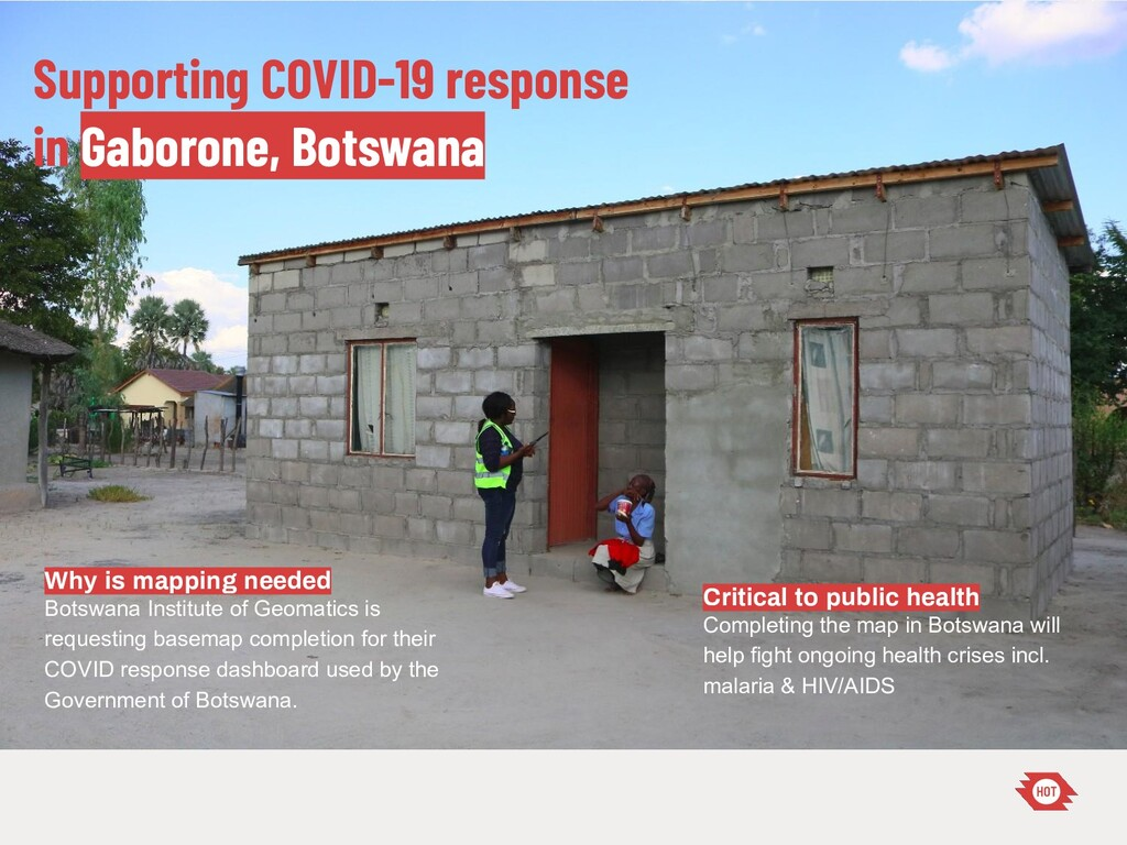 Supporting COVID-19 response in Gaborone, Botsw...