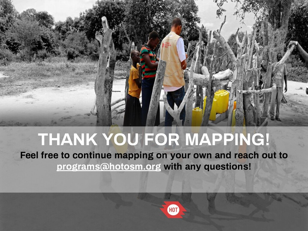 THANK YOU FOR MAPPING! Feel free to continue ma...