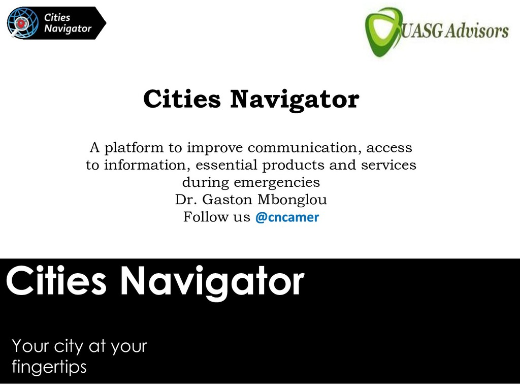 Cities Navigator Your city at your fingertips C...