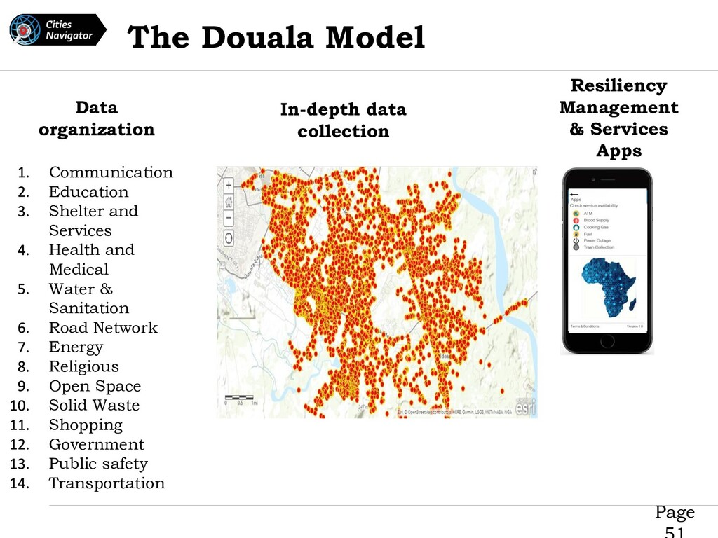 Page The Douala Model Communication Education S...