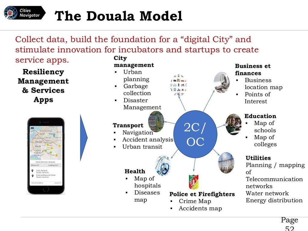 Page The Douala Model Collect data, build the f...