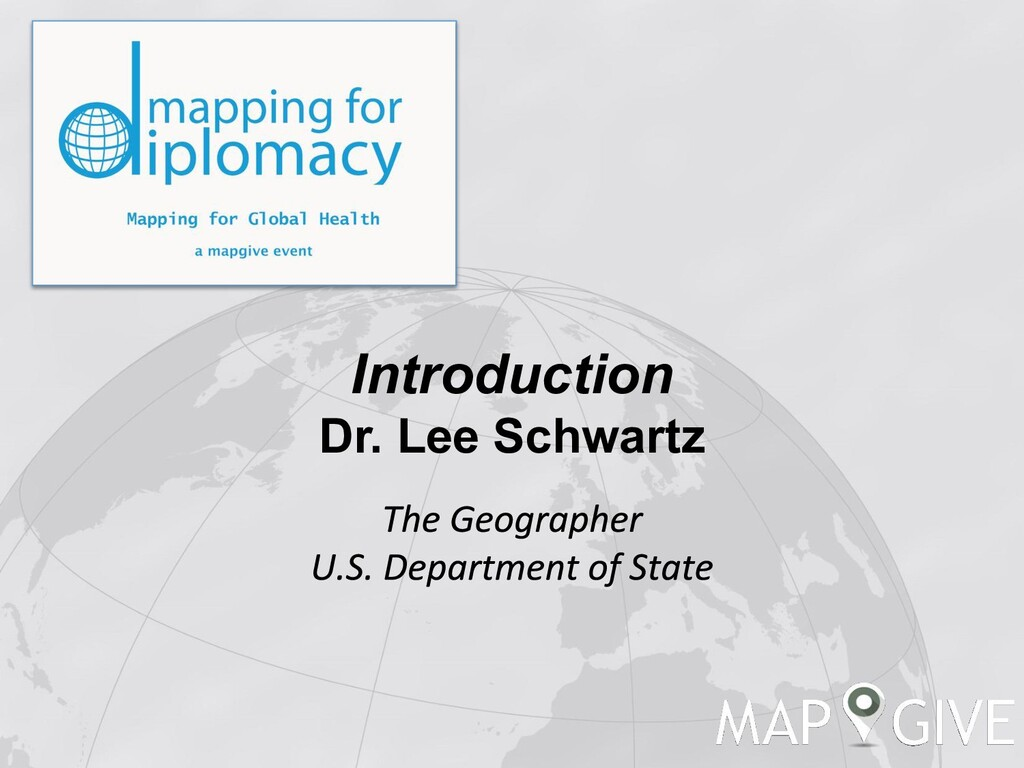 Introduction Dr. Lee Schwartz