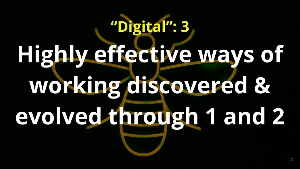 """Digital"": 3 20 Highly effective ways of working..."