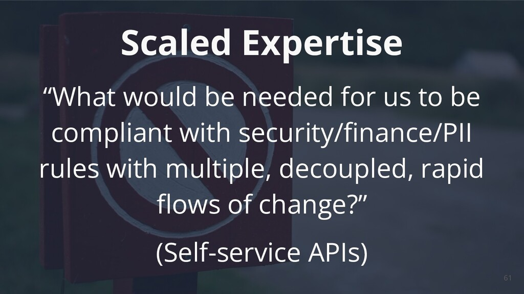 """""""What would be needed for us to be compliant wi..."""