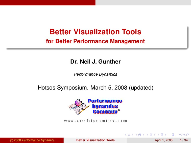 Better Visualization Tools for Better Performan...