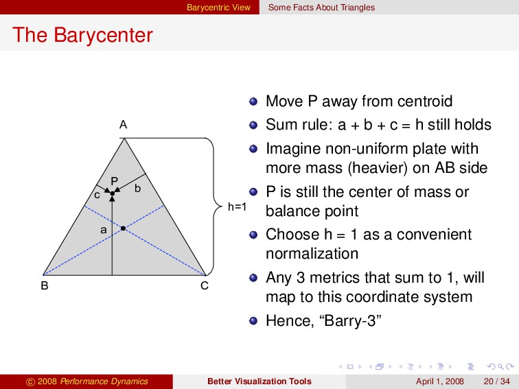 Barycentric View Some Facts About Triangles The...