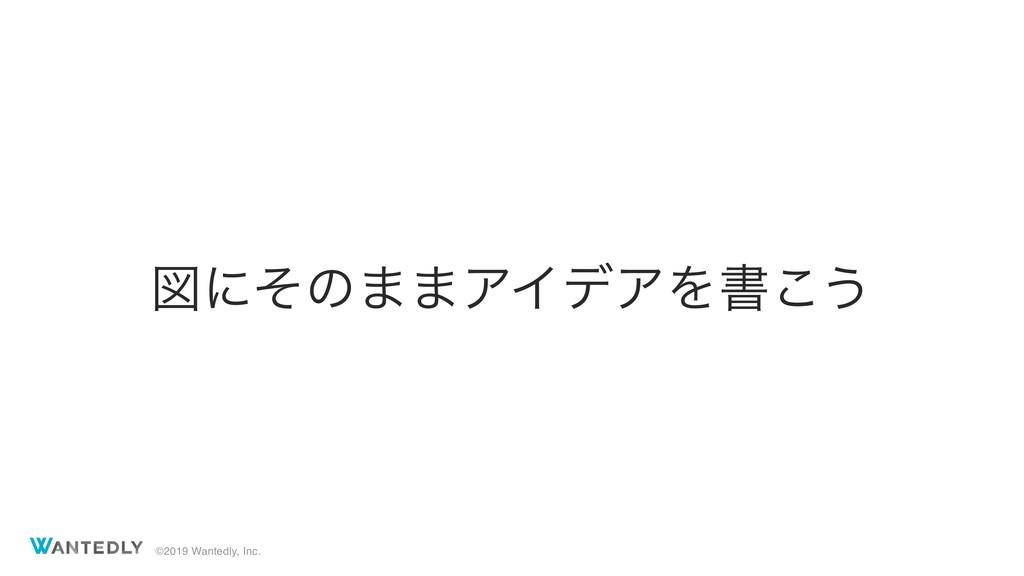 ©2019 Wantedly, Inc. ਤʹͦͷ··ΞΠσΞΛॻ͜͏