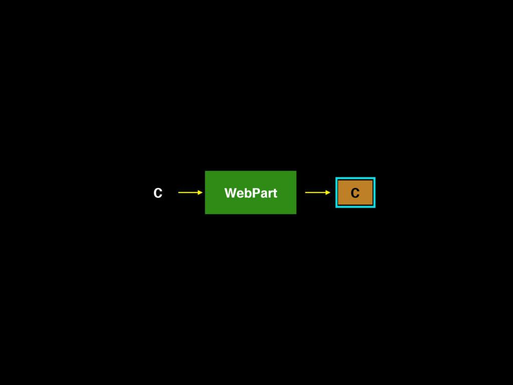 C WebPart C