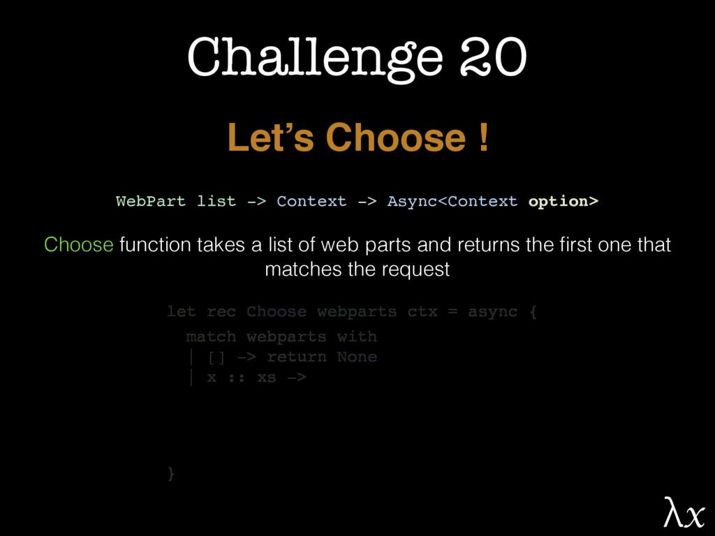 Challenge 20 Let's Choose ! WebPart list -> Con...