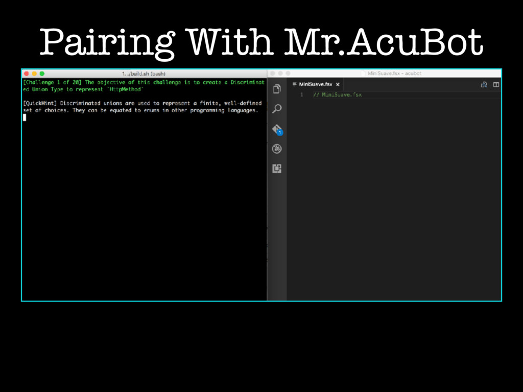 Pairing With Mr.AcuBot