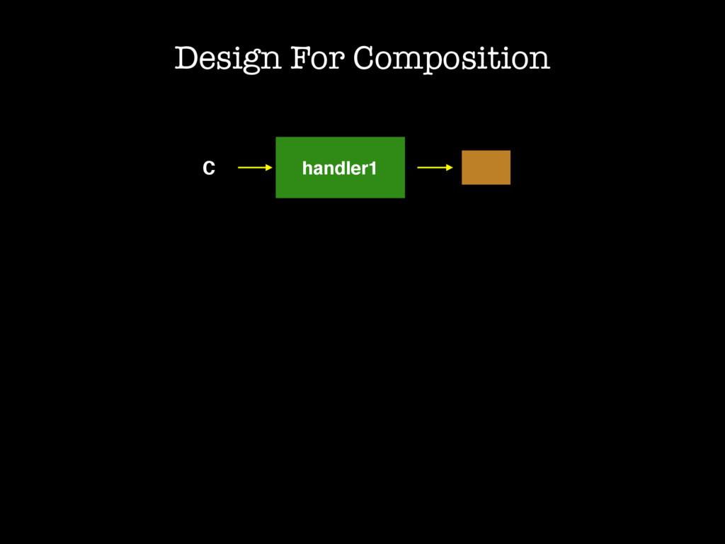 C handler1 Design For Composition