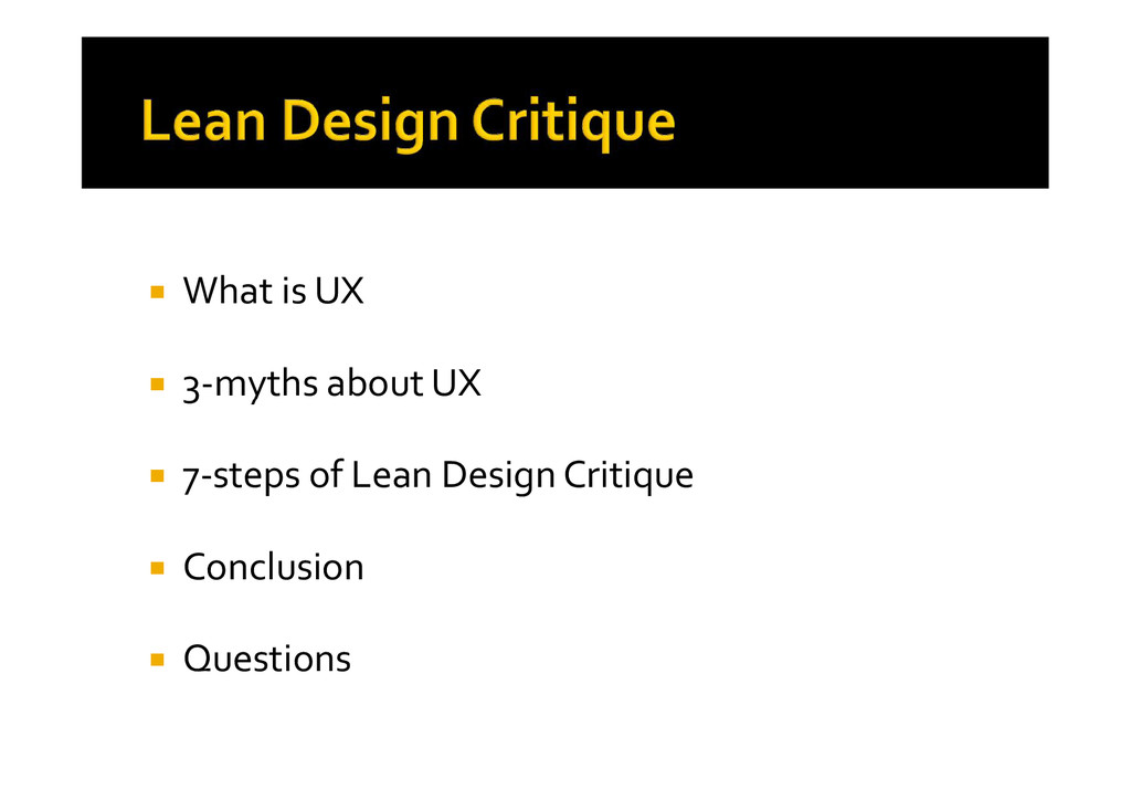  What is UX  3-myths about UX  7-steps of Le...