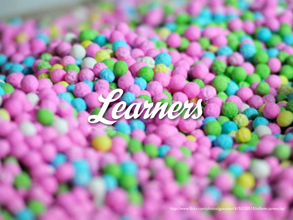 Learners http://www.flickr.com/photos/gpaumier/6...