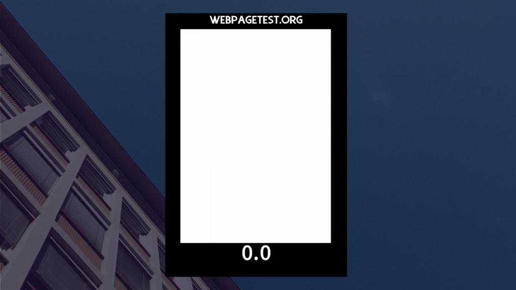 WEBPAGETEST.ORG