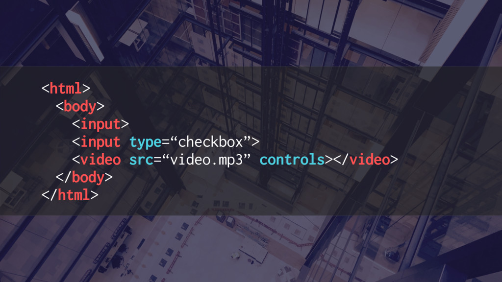 "<html> <body> <input> <input type=""checkbox""> <..."