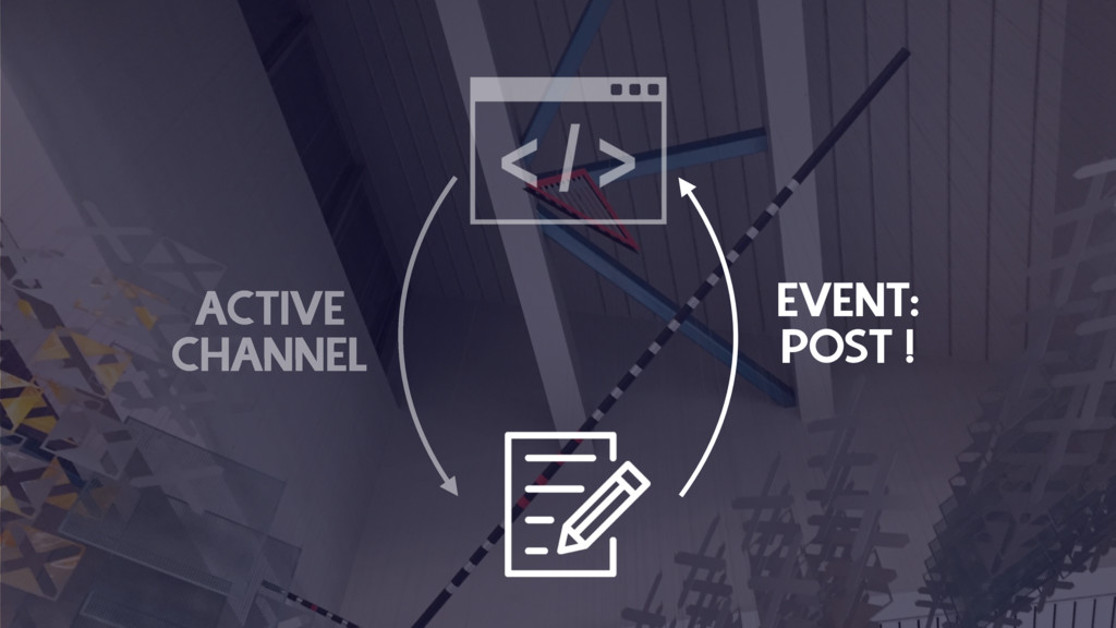ACTIVE CHANNEL EVENT: POST !