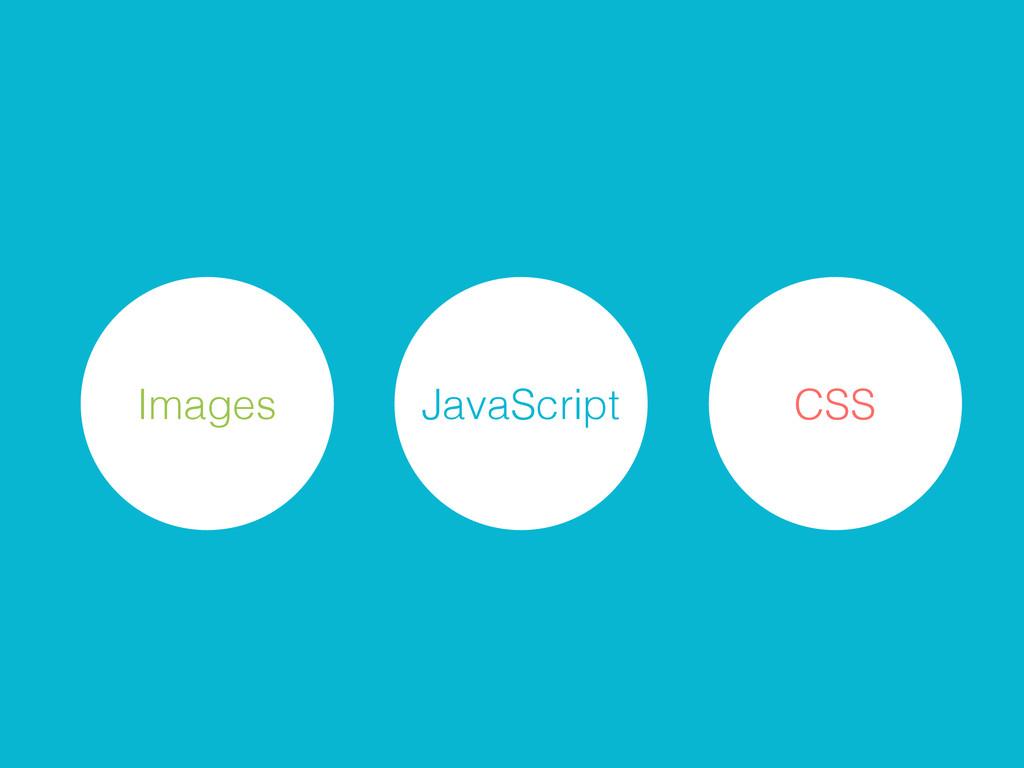 Images CSS JavaScript