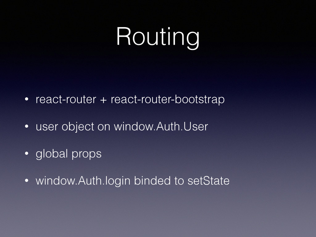 Routing • react-router + react-router-bootstrap...