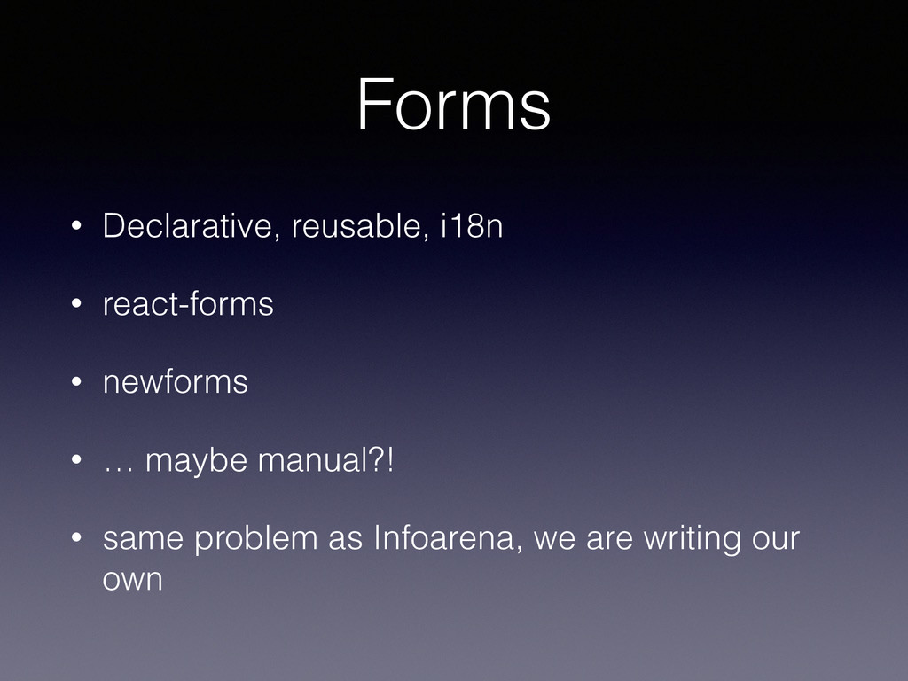 Forms • Declarative, reusable, i18n • react-for...