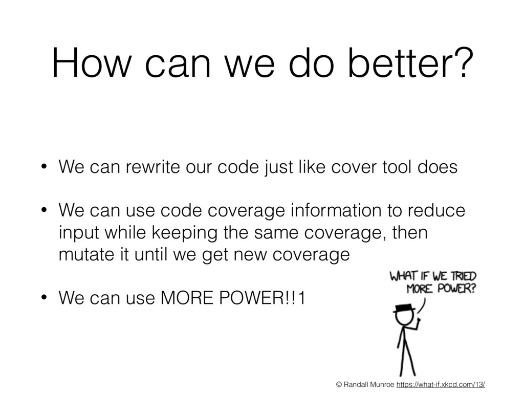 • We can rewrite our code just like cover tool ...