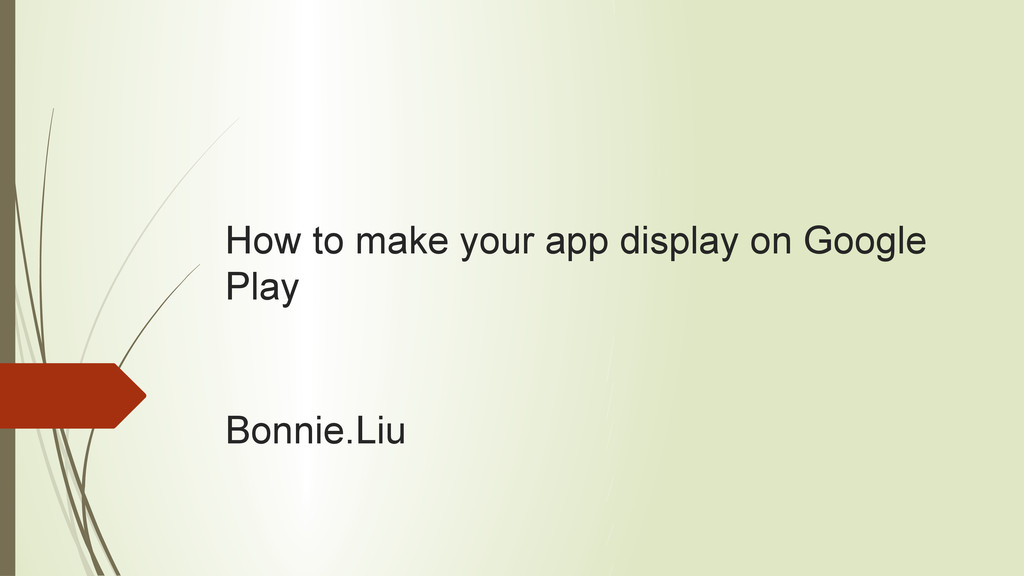 How to make your app display on Google Play Bon...