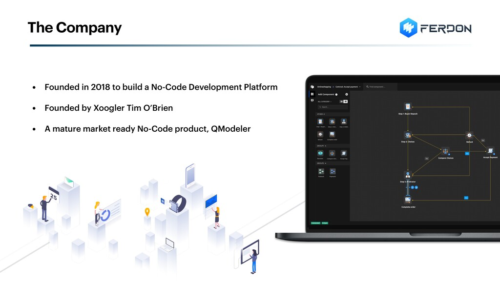 • Founded in 2018 to build a No-Code Developmen...
